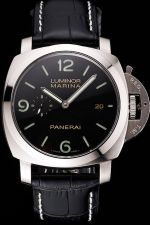 Swiss ETA Panerai PAM00312 44MM Luminor Marina 1950 3 Days Automatic Acciaio Black Watch PN001
